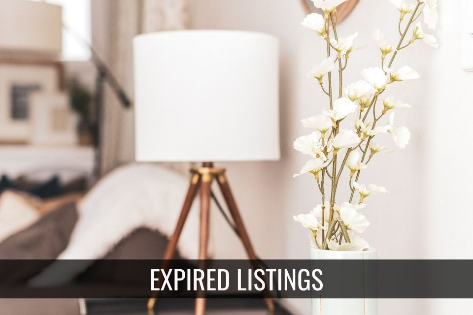 Expired Listing – Now What?